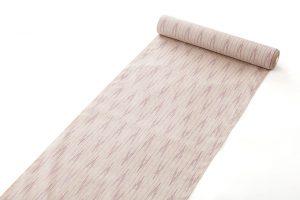 秋山眞和作 貝紫花織綾の手紬 着尺のサブ1画像
