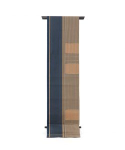 龍村平蔵製 袋帯「名物船越間道手」のメイン画像