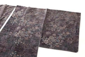 藤絹織物製 美術大島付下げ 都喜エ門のサブ1画像
