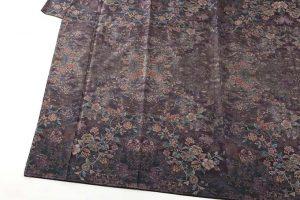 藤絹織物製 美術大島付下げ 都喜エ門のサブ2画像