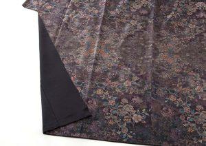 藤絹織物製 美術大島付下げ 都喜エ門のサブ3画像