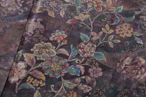 藤絹織物製 美術大島付下げ 都喜エ門のサブ4画像