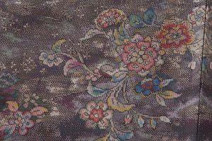 藤絹織物製 美術大島付下げ 都喜エ門のサブ5画像