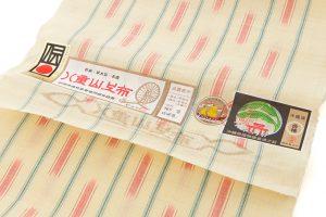 日本工芸会正会員 新垣幸子作 八重山上布 名古屋帯地のサブ4画像