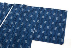 琉球美絣 綿着物のサブ1画像