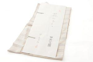 甲木恵都子作 紬着物地 「花みずき」のサブ5画像