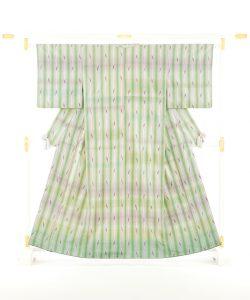 志村洋子作 紬着物のメイン画像