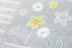 山本由季作 紬地名古屋帯地のサブ2画像