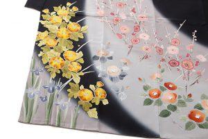 古田芳彩作 木村雨山画 訪問着のサブ2画像