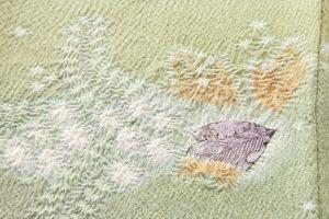 初代久保田一竹作 訪問着「四季彩」のサブ5画像