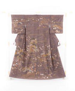 京屋林蔵製 刺繍訪問着のメイン画像