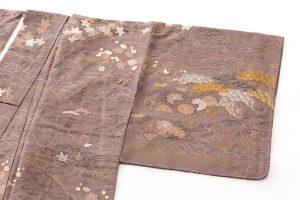 京屋林蔵製 刺繍訪問着のサブ1画像