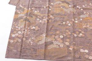 京屋林蔵製 刺繍訪問着のサブ2画像