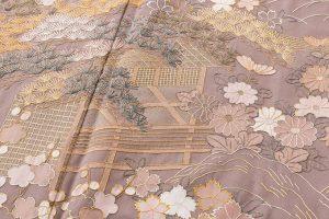 京屋林蔵製 刺繍訪問着のサブ5画像