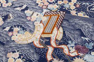 熊谷好博子作 刺繍綸子地名古屋帯のサブ2画像
