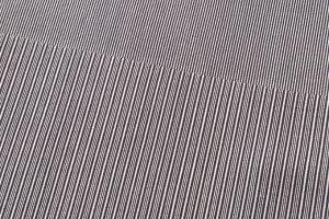 人間国宝 児玉博型紙 極縞訪問着のサブ5画像