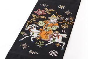 龍村平蔵製 袋帯「人形手錦」のサブ1画像