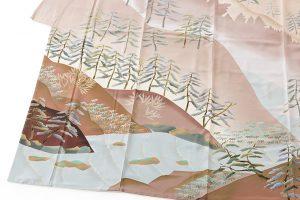 西尾翠峰作 本加賀友禅訪問着のサブ2画像