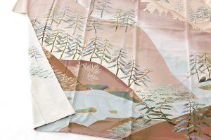 西尾翠峰作 本加賀友禅訪問着のサブ3画像