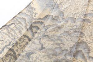 井口誠一郎作  越後上布 訪問着「笹川流れ」のサブ5画像