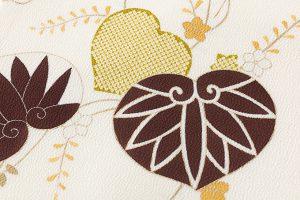 工芸きもの野口製 縮緬名古屋帯のサブ2画像