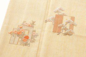 本場結城紬地 刺繍訪問着のサブ5画像