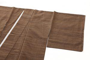 山崎桃麿作 紬着物のサブ1画像