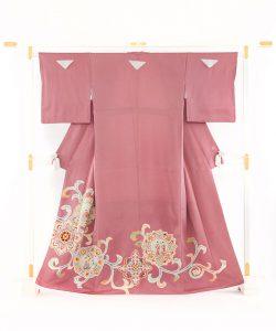 染繍工芸大羊居製 色留袖のメイン画像