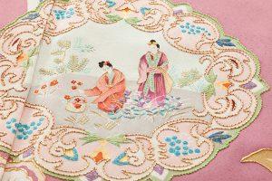 染繍工芸大洋居製 色留袖のサブ4画像