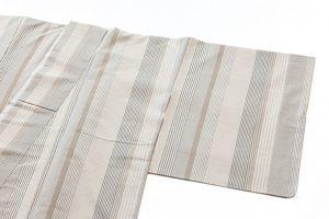 築城則子作 小倉織絹着物のサブ1画像