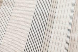 築城則子作 小倉織絹着物のサブ4画像