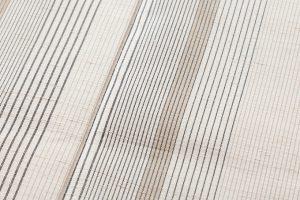 築城則子作 小倉織絹着物のサブ5画像