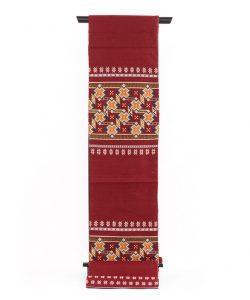 龍村美術織物製 袋帯「カシミール段文」のメイン画像