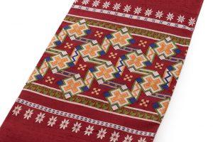 龍村美術織物製 袋帯「カシミール段文」のサブ1画像