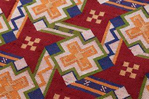 龍村美術織物製 袋帯「カシミール段文」のサブ2画像