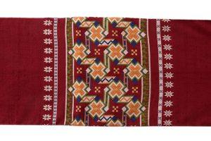 龍村美術織物製 袋帯「カシミール段文」のサブ3画像