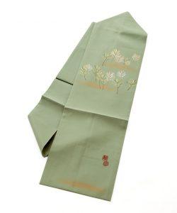 人間国宝 福田喜重作 刺繍塩瀬名古屋帯のメイン画像