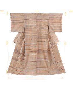 小熊素子作 紬着物のメイン画像