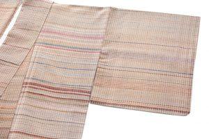 小熊素子作 紬着物のサブ1画像