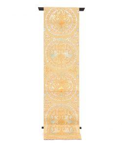 龍村平蔵製 袋帯「円文白虎錦」のメイン画像