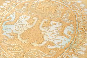 龍村平蔵製 袋帯「円文白虎錦」のサブ2画像