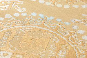 龍村平蔵製 袋帯「円文白虎錦」のサブ3画像