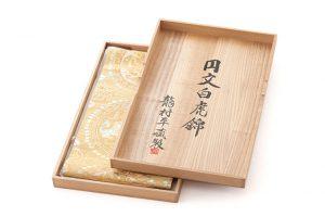 龍村平蔵製 袋帯「円文白虎錦」のサブ5画像