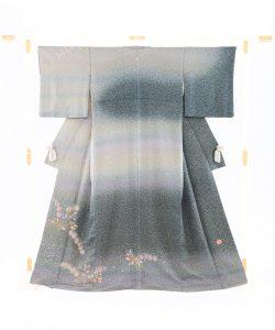 初代久保田一竹作 訪問着「彩奈」のメイン画像