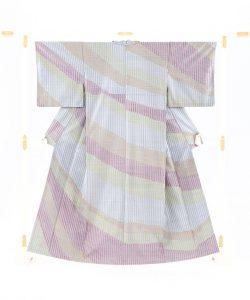 ロートン花織紬 訪問着のメイン画像