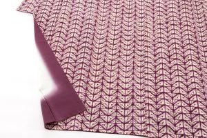 紫根染 紬着物のサブ3画像