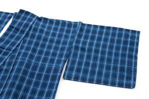 芝崎重一作 単衣綿着物のサブ1画像
