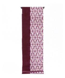紫根染 綿名古屋帯地のメイン画像