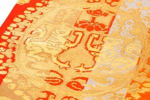 龍村平蔵製 袋帯「円文百虎間道」のサブ2画像