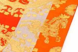 龍村平蔵製 袋帯「円文百虎間道」のサブ3画像